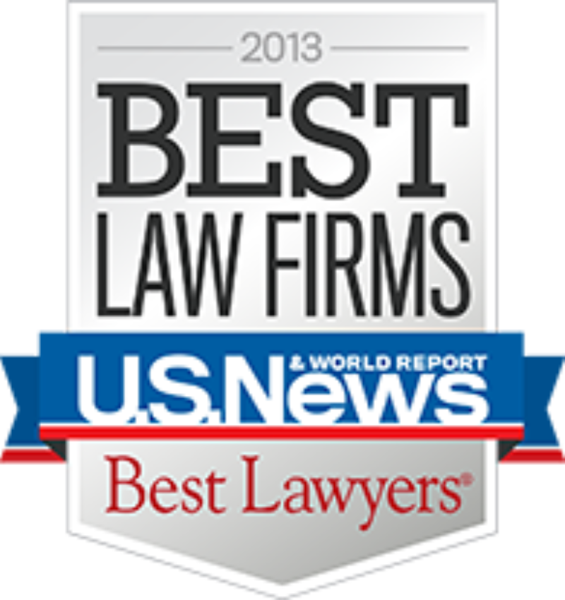Best Law Firms and Lawyers 2013